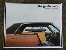 DODGE PHOENIX 1967 ''RARE'' RHD AUST  SALES  BROCHURE  100% GUARANTEE.