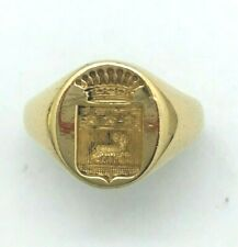Chevalière Bague Armoirie Pays Basque Homme ARGENT TAILLE 57 NEUF  chevaliere**