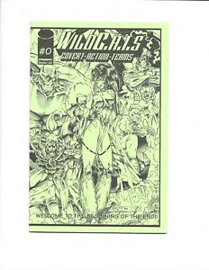 WILDC.A.T.S #0 ASHCAN IMAGE COMICS