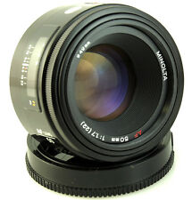Minolta AF 50 mm f1.7 Premier objectif Minolta Dynax Maxxum Sony Alpha A KonicaMinolta Fit