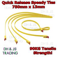 HellerMann Tyton Heavy Duty Releasable Speedy Cable Tie Wrap Double Loop 750x13