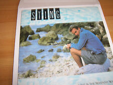 "Sting - Love Is The Seventh Wave -  7 "" Single"
