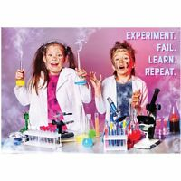 Experiment. Fail. Learn. Repeat. Inspire U Poster, Gr. 3+ Creative Teaching Pres
