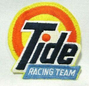 Vintage 1990's NASCAR Tide Logo Racing Team Jacket Patch
