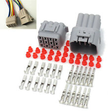 1 Set Car 12 Pin Way Sealed Waterproof Electrical Wire Auto Connector Plug Kit