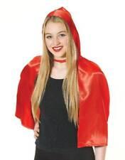 RED RIDING HOOD CAPE, FANCY DRESS COSTUME