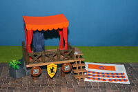 Playmobil  Rittertunier Tribüne mit  zubehör   3666 3665 3668 Knights