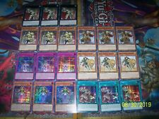 21 Card Noble Knight Deck Core Avalon Heritage Chalice Noble Arms MP19 Yu-Gi-Oh!