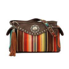 Blazin Roxx Womens Handbag Purse Josie Satchel Concealed Weapon Multi N7513397