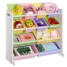 scaffale per bambini con motivo di animali con 16 cubi armadio per bambini Sawekin in plastica 8 cubi rosa scaffale per libri fai da te