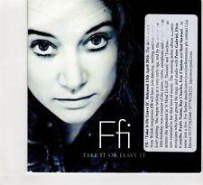 (HC782) Ffi, Take It Or Leave It - 2016 CD