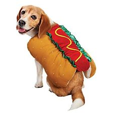 Bootique Pet Hot Dog Costume Halloween Dress-Up Size Small