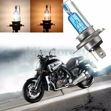 H4 35W Xenon HID Headlight Halogen Light Bulb Lamp Hi/Lo Beam Super White 6000K