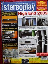 STEREOPLAY 6/09,FOCAL GRANDE UTOPIA EM,PIEGA TC 30X,TANNOY TC 10 T,KEF XQ 40