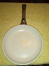"New listing Ipac Cookware Italian, 10"", Non Stick Saute fry Pan, White"