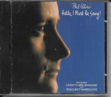 CD ALBUM 10 TITRES--PHIL COLLINS--HELLO I MUST BE GOING--1982