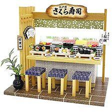 Doll House Handmade kit Japanese Restaurant [Sushi Restaurant] Billy Japan