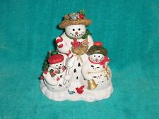 Partylite Snowbell Tealight Holder -- Holiday!