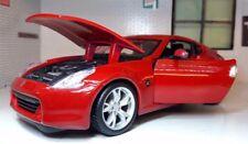G LGB 1:24 Echelle Rouge Nissan 370Z 3.8 V6 2009 détaillé Maisto
