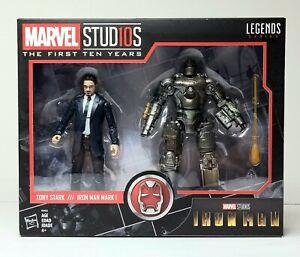 "Marvel Legends Series TONY STARK & IRON MAN MARK 1 6"" Action Figures 2-Pack NEW"