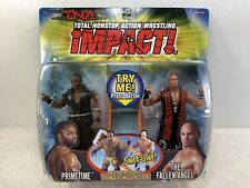 TNA Impact Wrestling Figures 2 Pack - The Fallen Angel and Primetime MOC