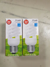 Two Non-Dimmable 13 watt energy star light bulbs
