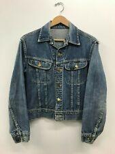 Vintage Lee 101-J Denim Jacket 1950's Red Tag Size:38 e3