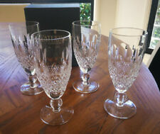 Stunning Waterford crystal short stem Colleen champagne flutes