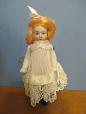 "Vintage All Bisque 4 1/4"" Doll with Pin Jointed Shoulders"