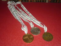 [Coll.J.DOMARD SPORT] OR ARGENT BRONZE WORLD CHAMPIONSHIP GYMNASTIQUE PARIS 1992