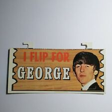 1964 Topps Beatles Plaks #38 I Flip For George