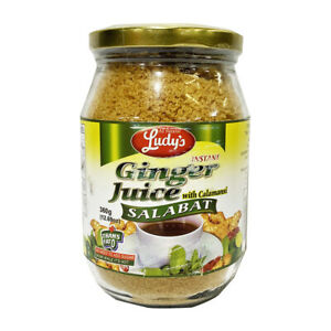 Ludy's Ginger Tea, Salabat with Calamansi Juice 360g (12.7oz)- 1 Bottle