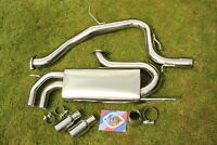 "VW Golf GTi 2.0T FSI Mk5 3"" Sports Catback Exhaust System 03-09"