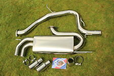 "VW Golf GTi 2.0T FSI Mk5 3"" Sports Catback Exhaust System 03-09"