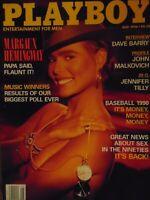 Playboy May 1990 | Margaux Hemingway Tina Bockrath      #7658