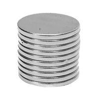 Bg _ 10Pcs 15x1.5mm Rund Scheibe Selten Erde N50 Neodym Selbermachen Magneten