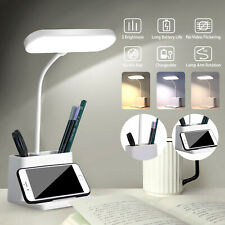 Dimmable LED Desk Lamp Table Beside Reading Light Touch...