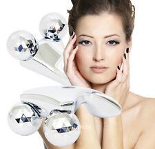 3D Massager Solar Panel Microcurrent Face&Body Slimming Roller Made in Korea.