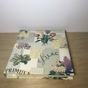Floral Garden Photo Album CR Gibson Library Bound New Picture