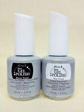 IBD Just Gel Polish - Soak-Off Nail Polish BASE + TOP .5oz Duo