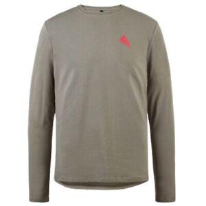 Klättermusen chemise Runa Commitment, coton gris pour hommes, taille XS