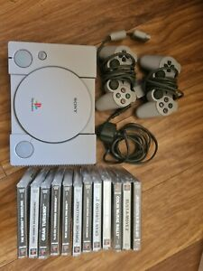 Ps1 Console with games Sony Playstation