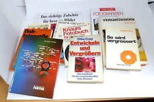 Konvolut 10 Foto Bücher: Digital, Analog, Entwicklung, Ratgeber, etc.