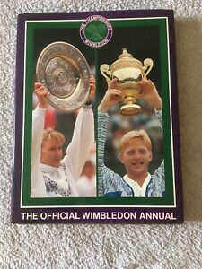 The Championships Wimbledon Official Annual 1989 Hardback Book