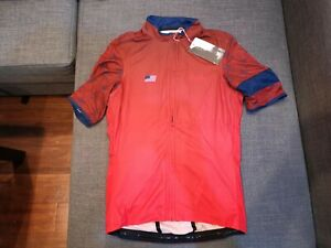 RARE Rapha Super Lightweight Country USA Jersey Red Size Medium M NEW