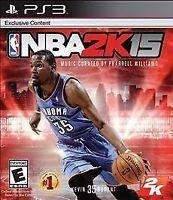 NEW NBA 2K15 (Sony Playstation 3, 2014)