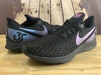 Nike Men Air Zoom Pegasus 35 Black/Laser Fuchsia-Anthracite BV6106-001 Size 10.5