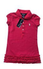 NWT Girls Ralph Lauren Pink Dress age 2