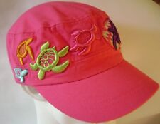 Mote Aquarium Girls Turtle Hat Baseball Cap Pink Sarasota Florida Marine Lab