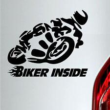 Auto Motorrad Aufkleber Biker inside tuning sticker